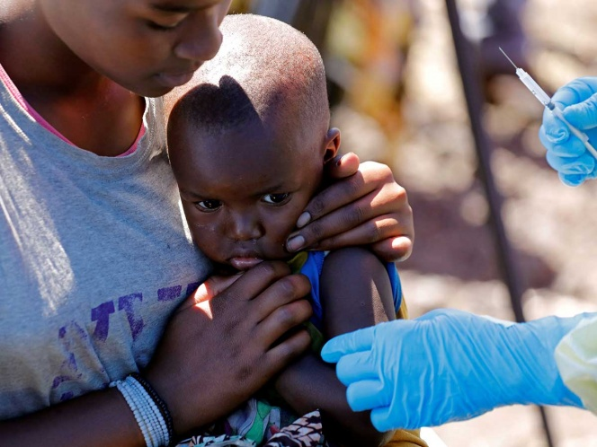 Sufre Congo brote de sarampión, con más muertes que ébola