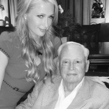 Murió el abuelo de Paris Hilton y dejó la mayoría de su dinero a fundación