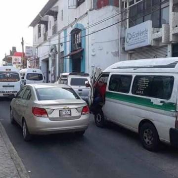 Transportistas no permitirán la entrada de servicio de transporte a través de plataformas digitales en Tapachula