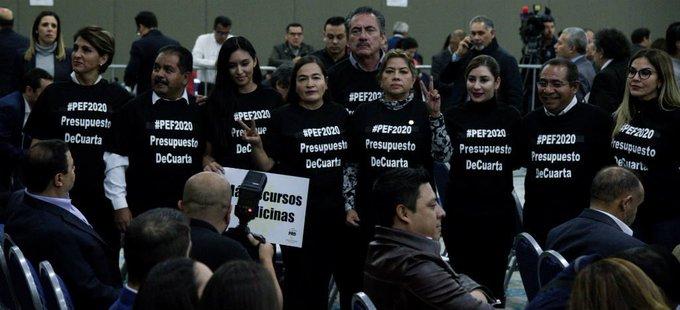 """""""Tijerazo"""" de 4 mil 183 millones de pesos a los órganos autónomos; Presupuesto de Egresos de la Federación 2020"""