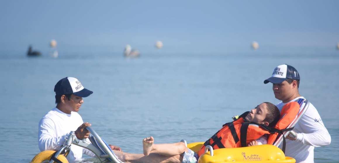 Abren la primera playa incluyente de todo Yucatán