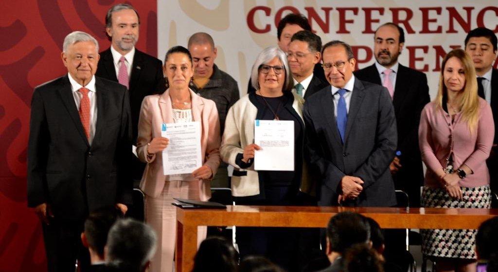 AMLO y empresarios presentan Padrón de Confianza Ciudadana