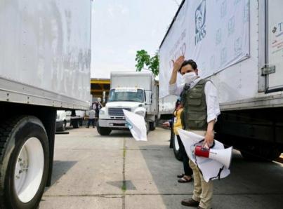 IMSS inicia entrega de mascarillas a trabajadores de la salud