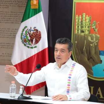 Gobierno implementa filtros sanitarios en la zona comercial de Tuxtla Gutiérrez