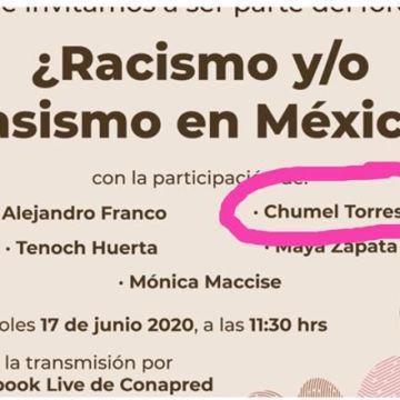 Cancela Conapred foro sobre racismo tras críticas