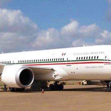 Ofrecen equipos médicos por Avión Presidencial