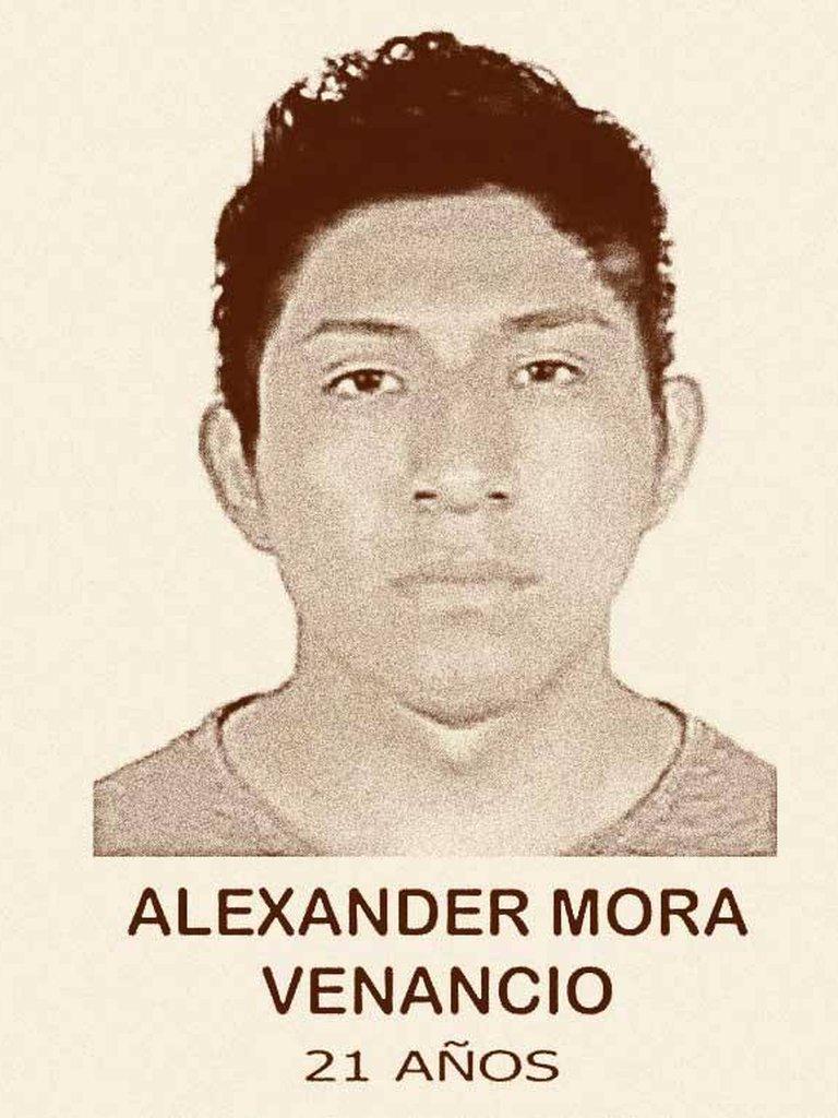 Hasta el momento se han identificado los restos de tres normalistas de Ayotzinapa