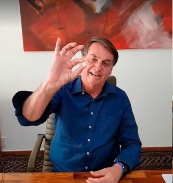 Jair Bolsonaro utiliza su contagio de coronavirus para promover su estrategia contra la pandemia
