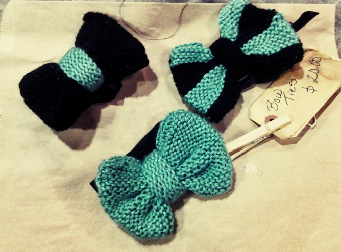 crochet bow ties from SOFISTAFUNK