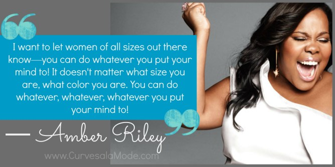 Amber Riley shared this powerful message after winning Season 17 of Dancing With The Stars