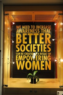 Empowered Women can help create BETTER societies