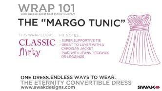 """SWAK's Wrap 101 The """"MARGO TUNIC"""""""