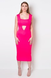 """GRISEL. """"TRUTH OR DARE"""" BODYCON CUT-OUT DRESS"""