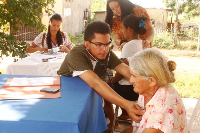 Vecinos recibieron la debida atención médica