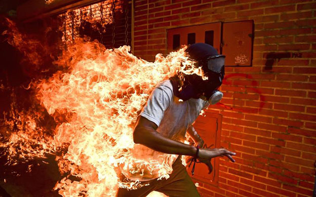 Fotógrafo venezolano fue nominado para el World Press Photo del año