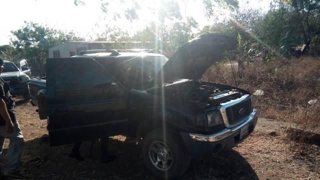 Recuperaron camioneta robada