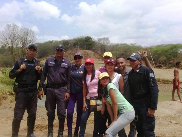 Cuerpos policiales, bomberos y protección civil brindaron protección a los temporadistas