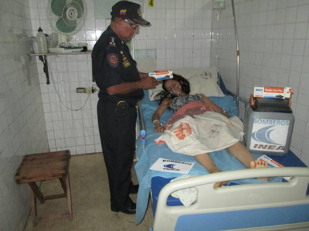 El suero fue trasladado por el Capitan Luis Contreras desde Maracaibo hasta Valle de la Pascua