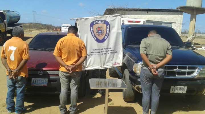 Sujetos con municiones, vehiculos pertenecientes al sicario de la banda tenia programado perpetrar un atentado contra la sede de la PNB.