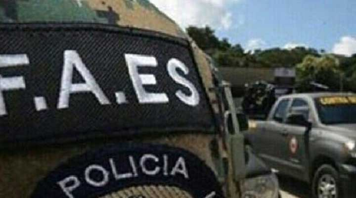 """Funcionarios del Faes abatieron a """"El Satan"""" en Las Canoas. Foto Referencial"""
