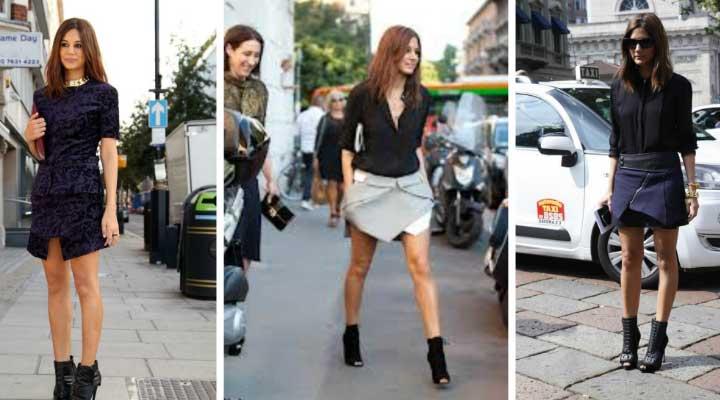 La falda pareo marca tendencia en la moda actual femenina