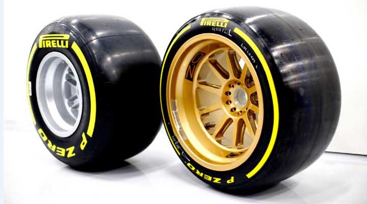 Los neumáticos de 18 pulgadas son una de las nuevas novedades.