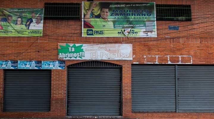 Club Social Paraíso, conocido como el Club Los Cotorros, lugar donde sucedió el hecho.