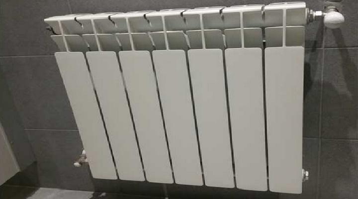radiador de baja temperatura