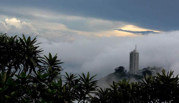 Fue utilizado como una muralla natural para proteger a la ciudad de Caracas
