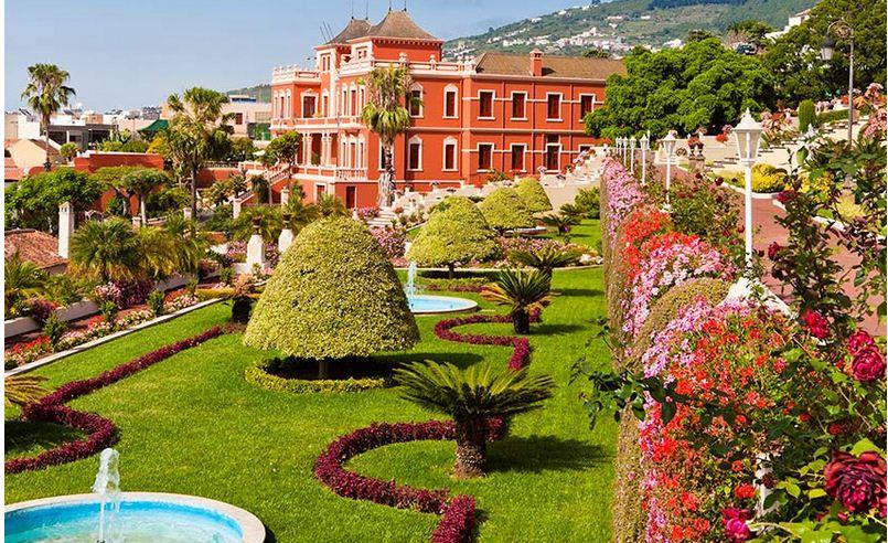 Los Jardines floridos de Canarias