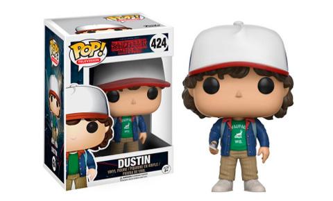 El Funko de Dustin, uno de los protagonistas de la serie Stranger Things