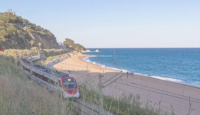 Pasear en metro y disfrutar de las playas