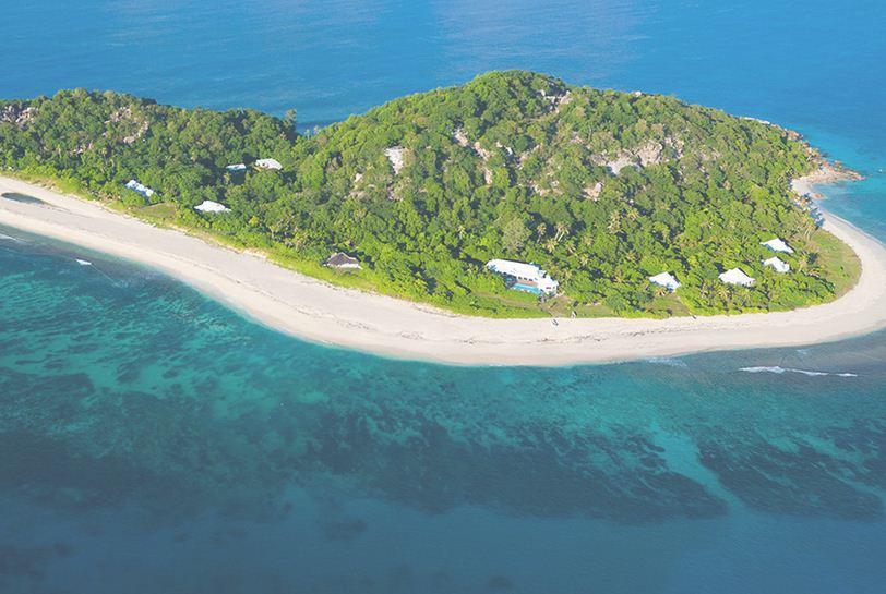 Atolon de Aldrada en Seychelles.