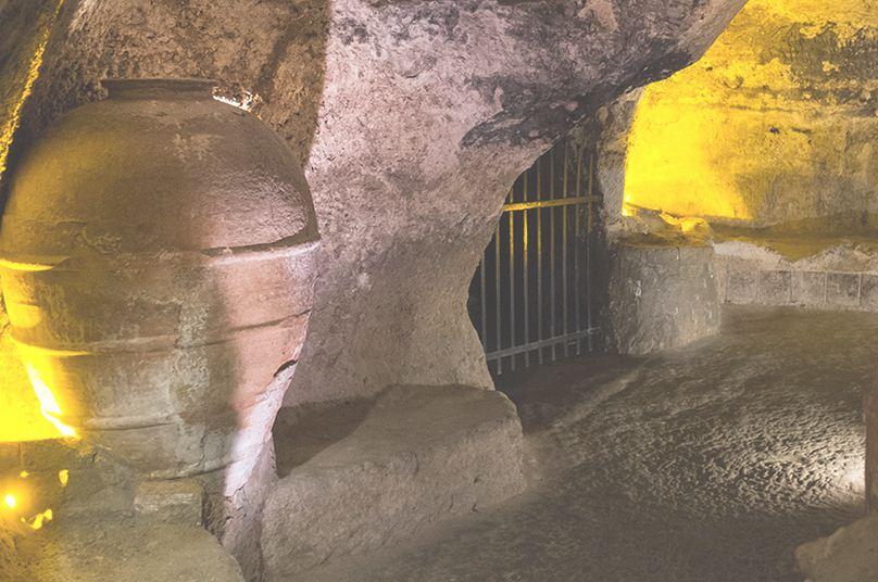 Cuevas del casco historico de Requena