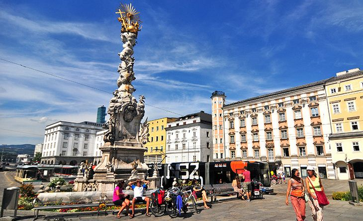 Linz, soberbia y encantadora