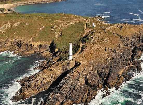 Faro de Cabo Home en Galicia