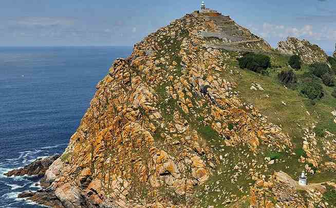 Faro de las Cíes en Galicia