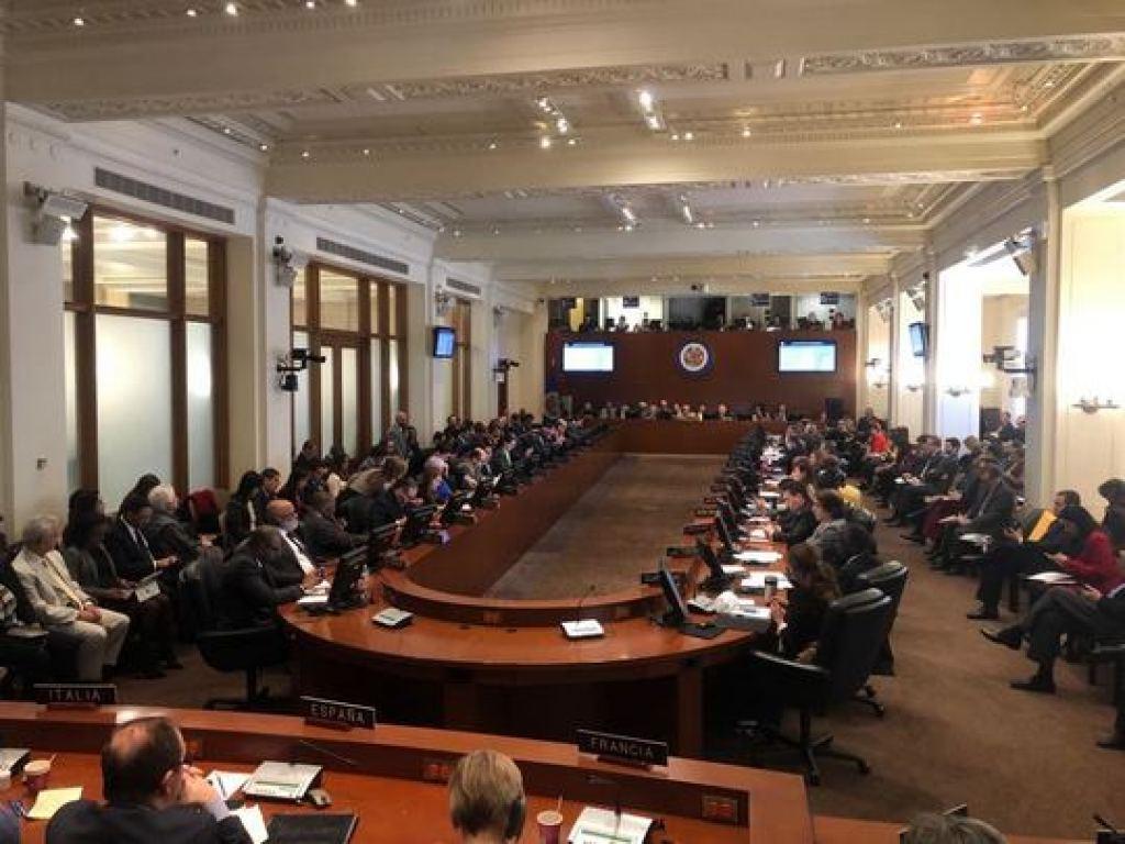 19 países de la OEA entre ellos Haiti y República Dominicana no reconocen el gobierno de Nicolas Maduro