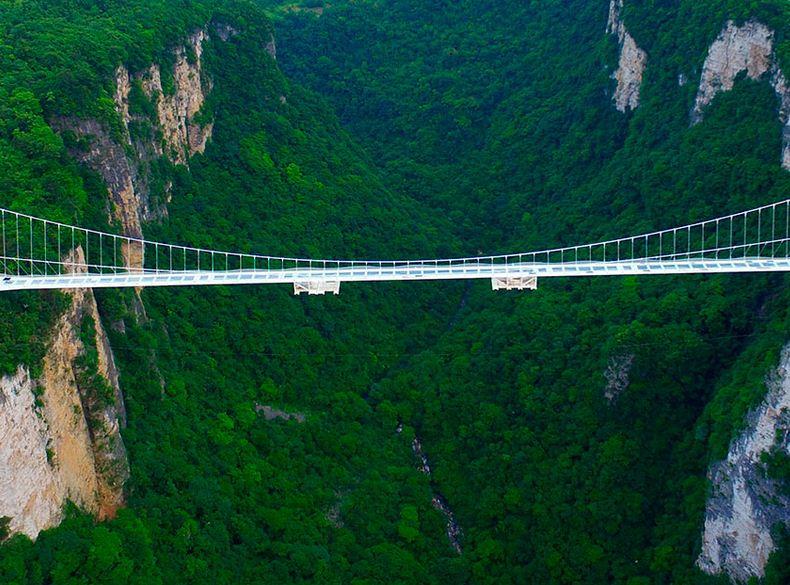 Bungee Jumping en el Puente de Zhangjiaje