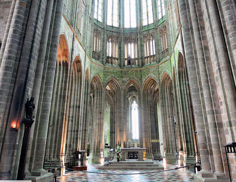 La abadía de Saint-Michael