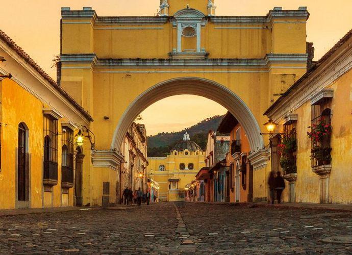 La ciudad colonial por excelencia. Antigua