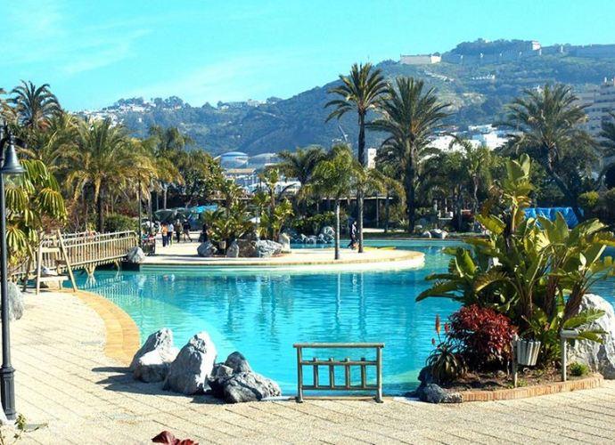 Parque Marítimo del Mediterráneo, en Ceuta.