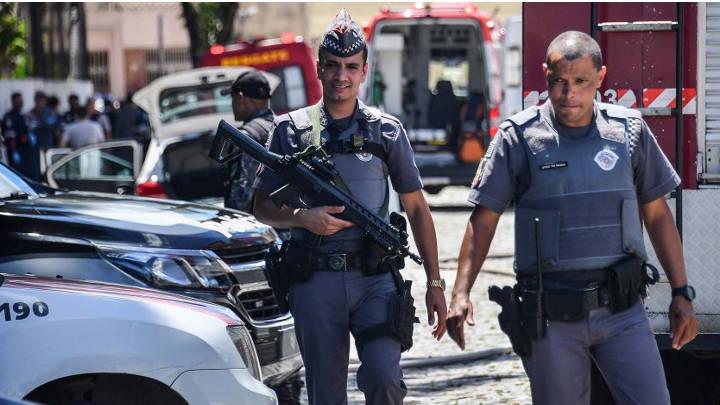 Matanza en colegio de Brasil, deja un saldo de siete muertos, en pleno debate de legalización del uso de armas.