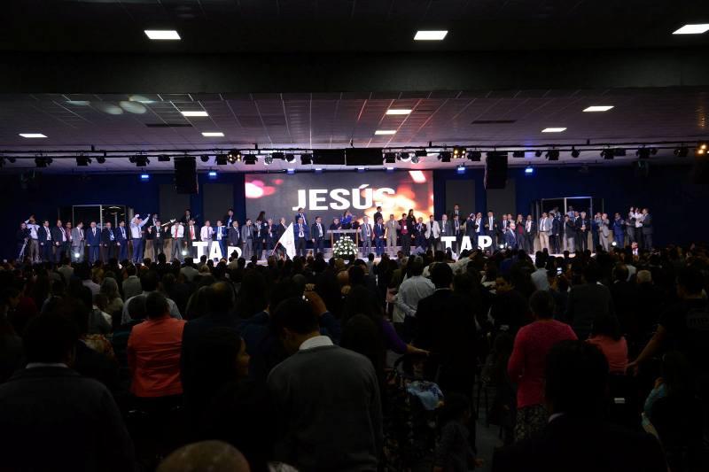 Al evento asistieron más de 3.800 hermanos de diversas regiones