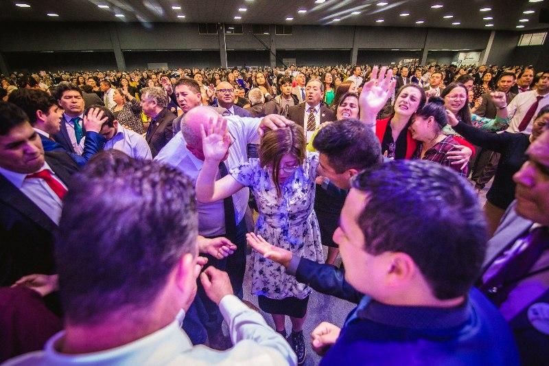 Muchos fueron ministrados por el Espíritu Santo