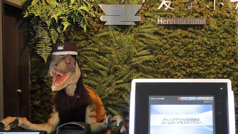 Henna Hotel Tokyo Bay, la magia de la tecnología.