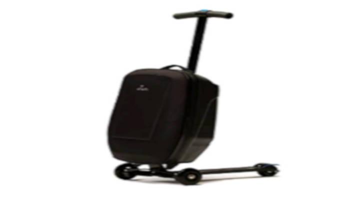 La maleta-patinete práctica útil y versátil, para llevar y traer a todas partes
