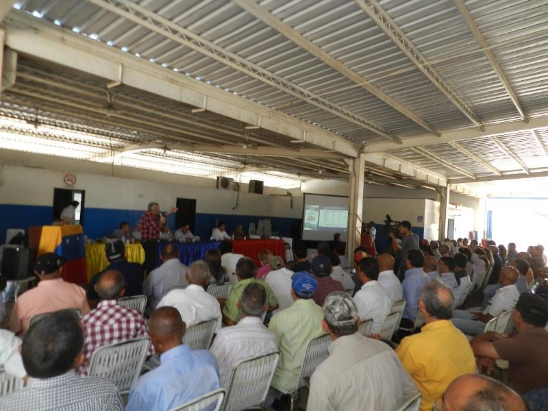 Ante nutrida y calificada audiencia del estado Gu_rico fue sometido a consulta el Plan Pais Agroalimentario que propone Guaido