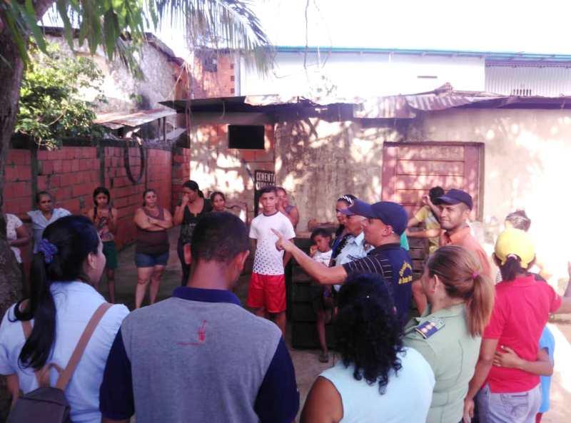 Asistieron ciudadanos de las comunidades de 5 de Julio Norte, Vaporon y Arévalo Cedeño