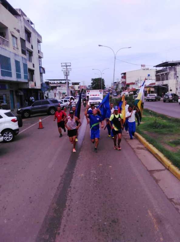 02- Recorrió la avenida Rómulo Gallegos